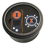 Team Golf Illinois Fighting Illini Switchfix Divot Tool & Golf Chip Set
