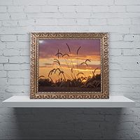 Trademark Fine Art Weeds Ornate Framed Wall Art