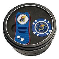 Team Golf Kansas Jayhawks Switchfix Divot Tool & Golf Chip Set