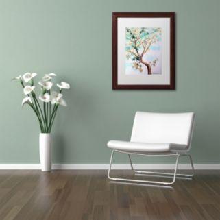 Trademark Fine Art Blue Maple Framed Wall Art