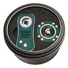 Team Golf Michigan State Spartans Switchfix Divot Tool & Golf Chip Set