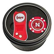 Team Golf Nebraska Cornhuskers Switchfix Divot Tool & Golf Chip Set