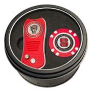 Team Golf North Carolina State Wolfpack Switchfix Divot Tool & Golf Chip Set