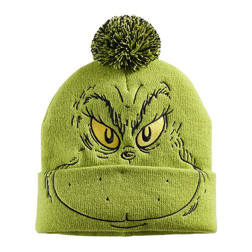 Men s Grinch Hat 1c0631e38d3