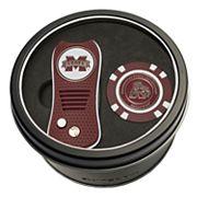 Team Golf Mississippi State Bulldogs Switchfix Divot Tool & Golf Chip Set