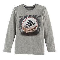 Boys 4-7x adidas Climalite Baseball Graphic Tee