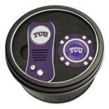 Team Golf TCU Horned Frogs Switchfix Divot Tool & Golf Chip Set