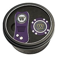 Team Golf Washington Huskies Switchfix Divot Tool & Golf Chip Set