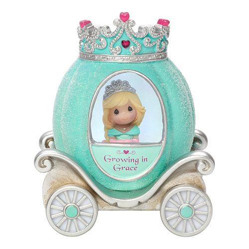 Precious Moments Grace Princess Carriage Light-Up Girl Figurine