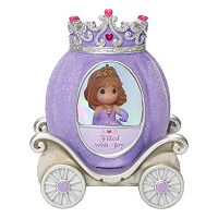 Precious Moments Joy Princess Carriage Light-Up Girl Figurine