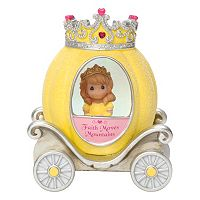 Precious Moments Faith Princess Carriage Light-Up Girl Figurine