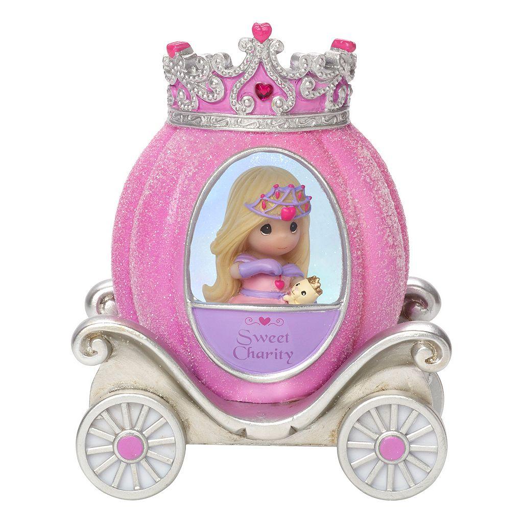 Precious Moments Charity Princess Carriage Light-Up Girl Figurine