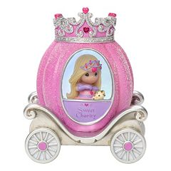 Precious Moments Charity Princess Carriage Light-Up Girl Figurine
