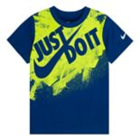 "Boys 4-7 Nike ""Just Do It"" Splatter Tee"