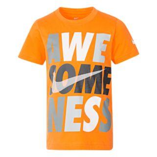 """Boys 4-7 Nike """"Awesomeness"""" Tee"""