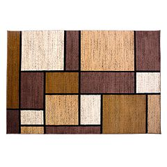 World Rug Gallery Alpine Modern Geometric Rug