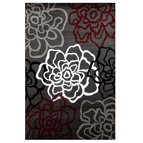 World Rug Gallery Alpine Modern Floral Rug
