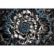 World Rug Gallery Alpine Contemporary Floral Rug