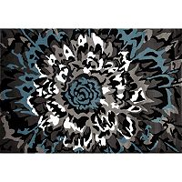 World Rug Gallery Alpine Contemporary Floral Rug