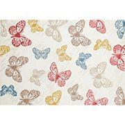 World Rug Gallery Alpine Modern Butterfly Rug