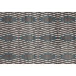 World Rug Gallery Alpine Contemporary Diamond Stripe Rug