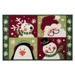 "Natco Holiday Be Merry Rug - 20"" x 30"""