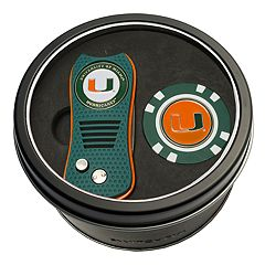 Team Golf Miami Hurricanes Switchfix Divot Tool & Golf Chip Set