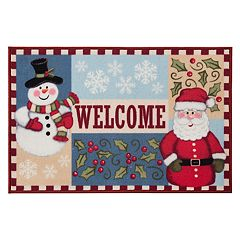 Natco Holiday 'Welcome' Christmas Rug - 20' x 30'