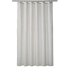 Home Classics® Linen Stripe Shower Curtain