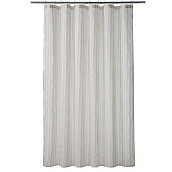 Home ClassicsR Linen Stripe Shower Curtain