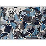 World Rug Gallery Avora Modern Floral Rug