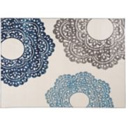 World Rug Gallery Avora Contemporary Floral Rug
