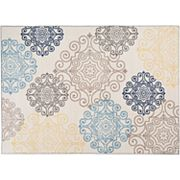 World Rug Gallery Avora Modern Scroll Rug