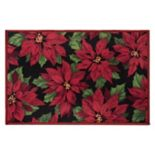 "Natco Holiday Poinsettias Rug - 20"" x 30"""
