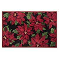 Natco Holiday Poinsettias Rug - 20
