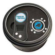 Team Golf Carolina Panthers Switchfix Divot Tool & Golf Chip Set