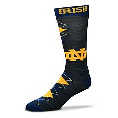 Men's For Bare Feet Notre Dame Fighting Irish Fan Nation Crew Socks
