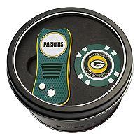 Team Golf Green Bay Packers Switchfix Divot Tool & Golf Chip Set