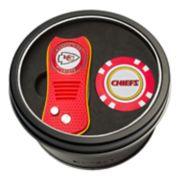 Team Golf Kansas City Chiefs Switchfix Divot Tool & Golf Chip Set