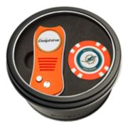 Team Golf Miami Dolphins Switchfix Divot Tool & Golf Chip Set