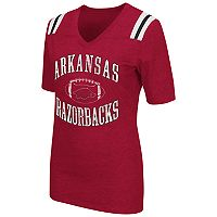 Women's Campus Heritage Arkansas Razorbacks Distressed Artistic Tee