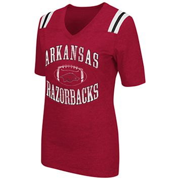 Women's Campus Heritage Arkansas Razorbacks Distressed Artistic Tee
