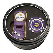 Team Golf Minnesota Vikings Switchfix Divot Tool & Golf Chip Set