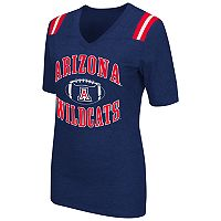Women's Campus Heritage Arizona Wildcats Distressed Artistic Tee
