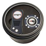 Team Golf New EnglandPatriots Switchfix Divot Tool & Golf Chip Set