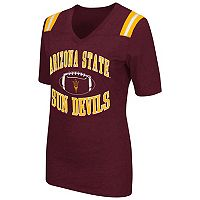 Women's Campus Heritage Arizona State Sun Devils Distressed Artistic Tee