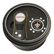 Team Golf New Orleans Saints Switchfix Divot Tool & Golf Chip Set