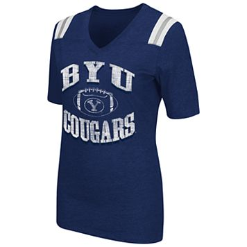 Women's Campus Heritage BYU Cougars Distressed Artistic Tee