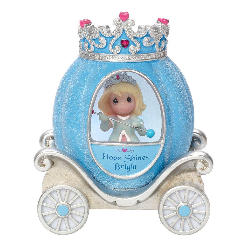 Precious Moments Hope Princess Carriage Light-Up Girl Figurine