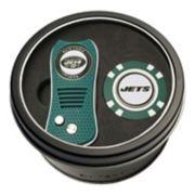Team Golf New York Jets Switchfix Divot Tool & Golf Chip Set